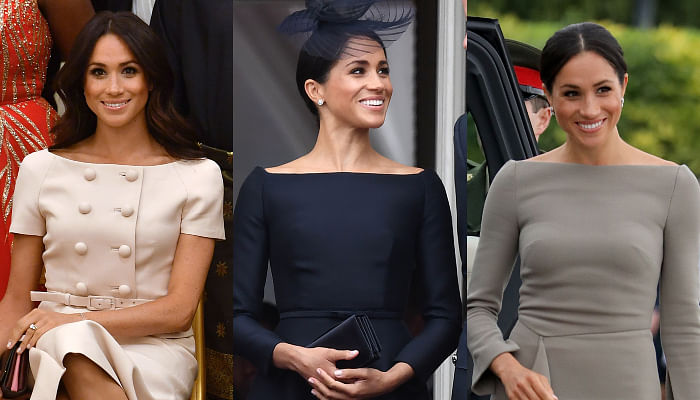 10 Bateau-Neck Tops Inspired By Meghan Markle's Favourite Neckline