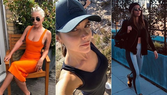 How Celebs Like Lady Gaga, Victoria Beckham And More Stay In Shape While Working