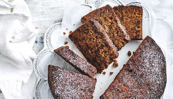 Christmas Baking Three-in-one mix fruit cake