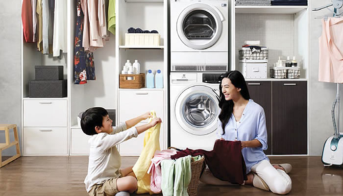 Electrolux's 9kg UltimateCare 500 Washing Machine and 9kg Heat Pump Dryer