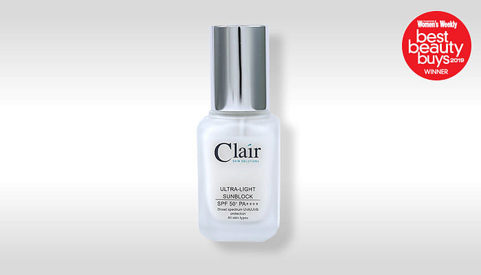 BBB Clair SKIN SOLUTIONS ULTRA-LIGHT SUNBLOCK_SPF50 PA