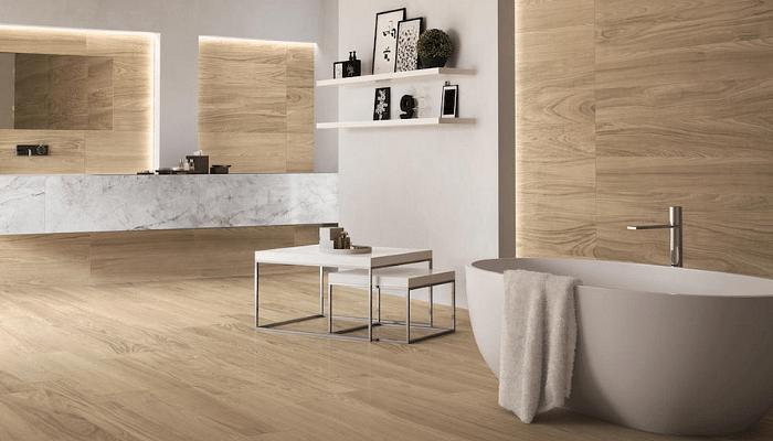 15 Floor Tile Ideas To Create A Bigger Bathroom
