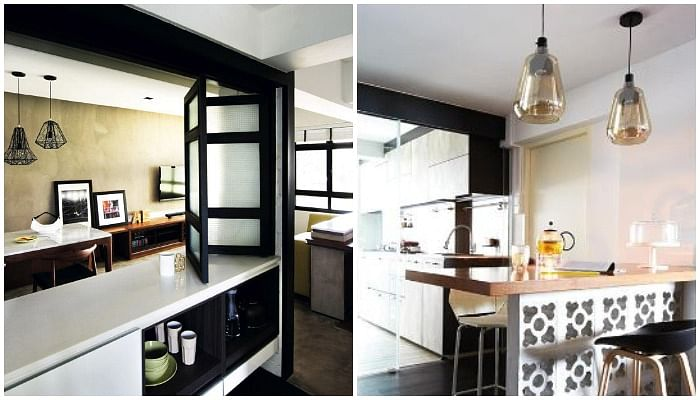 20 Space-Saving Bar Top Ideas For Tiny Kitchens