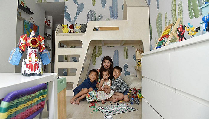 These Children's Bedrooms In Singapore Aren't Just Beautiful, They're Functional As Well_2