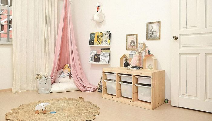These Children's Bedrooms In Singapore Aren't Just Beautiful, They're Functional As Well_3