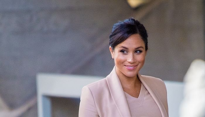 Meghan Duchess of Sussex Visits The National Theatre
