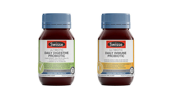 Swisse Ultibiotic Daily Digestive Probiotic & Swisse Ultibiotic Daily Immune Probiotic