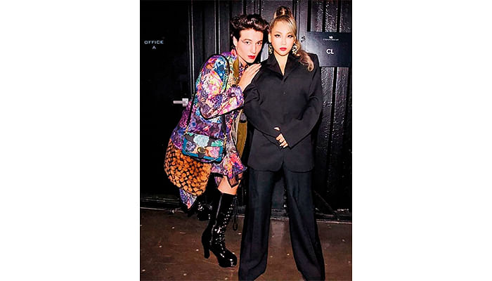 Urban Decay Pretty Different Launch Seoul 2019_K-Pop Star CL or Lee Chae-Rin And Actor Ezra Miller.