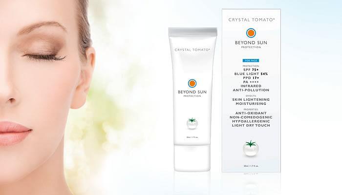 Crystal Tomato® Beyond Sun Protection